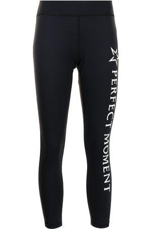 Perfect Moment Women Sports Leggings - Logo-print leggings