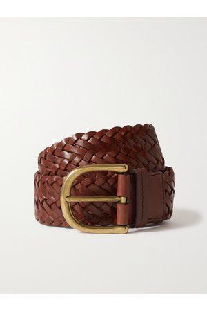 Tom Ford Men Belts - 4cm Woven Leather Belt