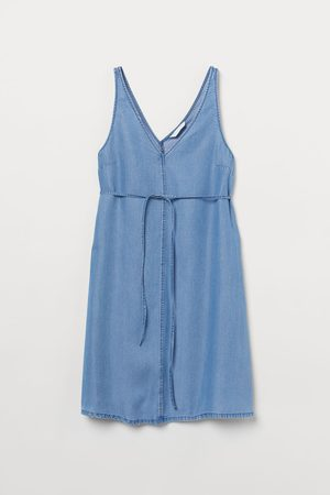 H & M Women Sleeveless Dresses - MAMA Lyocell dress