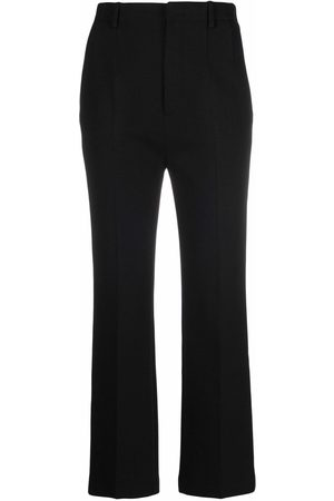 Saint Laurent Cropped flared trousers