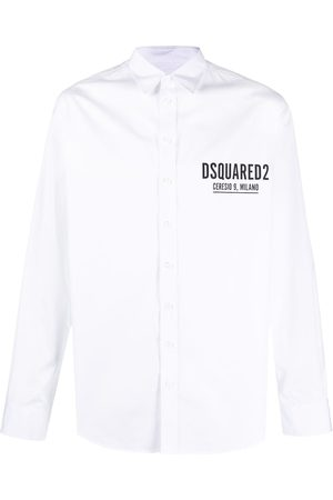 Dsquared2 Logo-print cotton shirt