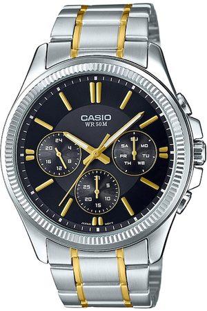 Casio Enticer Men Black Analogue Watch A1656 MTP-1375HSG-1AVIF