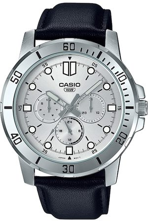Casio Enticer Men Silver-Toned Analogue Watch A1753 MTP-VD300L-7EUDF