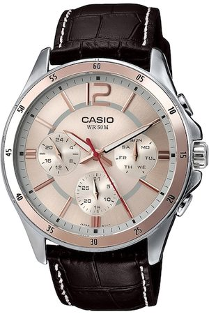 Casio Enticer Men Rose Gold-Toned Analogue Watch A956 MTP-1374L-9AVDF
