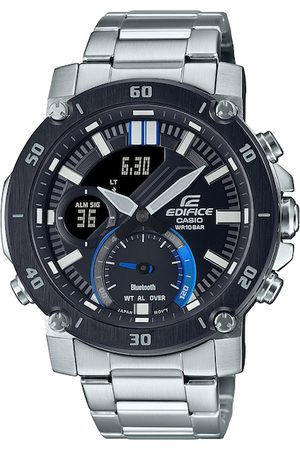 Casio Men Black Analogue and Digital Watch EX525