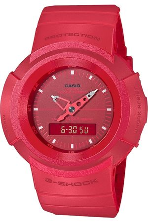 Casio Men Red Analogue and Digital Watch G1081