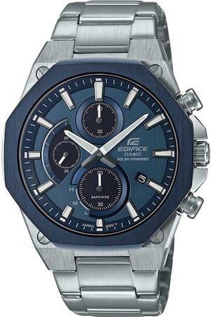 Casio Men Navy Blue Analogue Watch EX528
