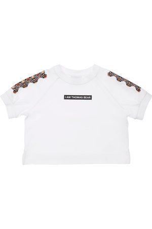Burberry Boys T-shirts - Bear Print Cotton Jersey T-shirt