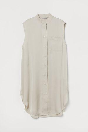 H & M Women Tunics - Oversized satin tunic
