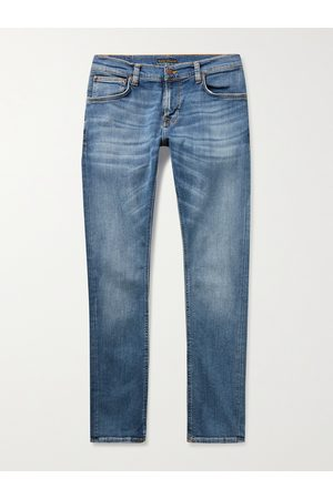 NUDIE JEANS Men Skinny - Tight Terry Skinny-Fit Organic Stretch-Denim Jeans