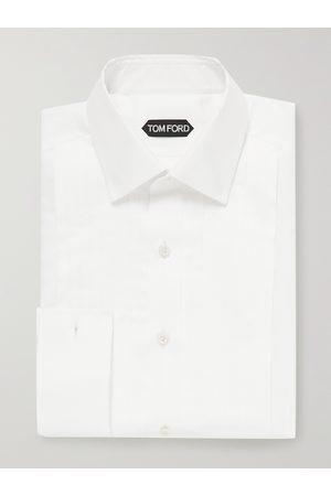 Tom Ford Bib-Front Cotton Tuxedo Shirt