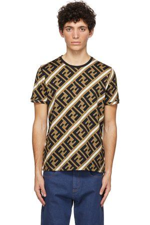 Fendi Brown 'Forever Fendi' T-Shirt