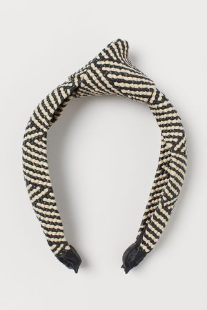 H & M Women Hair Accessories - Knot-detail Alice band