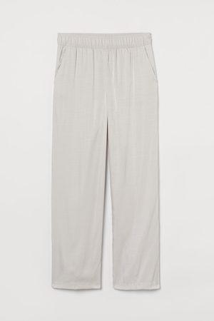 H & M Women High Waisted - High-waisted trousers