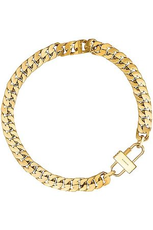 Givenchy G Chain Lock Small Necklace in Golden