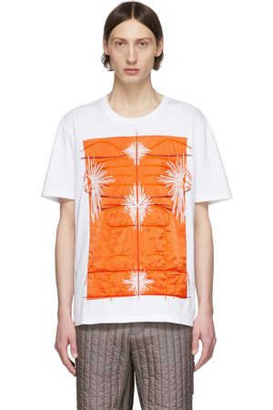 Craig Green SSENSE Exclusive White & Embroidered Body T-Shirt