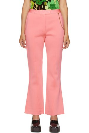 Women Wide Leg Trousers - Givenchy Chain Flared Trousers