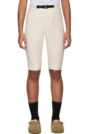 John Elliott Off-White Bermuda Shorts