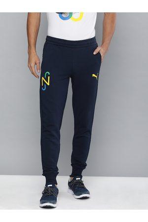 PUMA Men Navy Blue Slim Fit Solid NEYMAR JR Hero Joggers