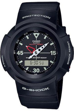 Casio Men Black Analogue and Digital Watch G1079