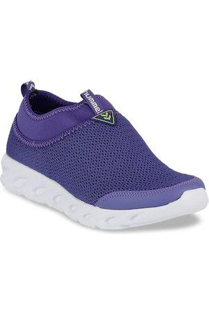 Hummel Women Sneakers - Women Woven Design Slip-On Sneakers