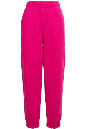 Ganni Women Sports Trousers - Isoli Recycled Cotton Blend Sweatpants