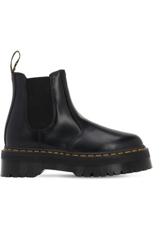 Dr. Martens Women Boots - 50mm 2976 Quad Brushed Leather Boots