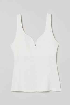 H&M Women Vests - Ribbed vest top
