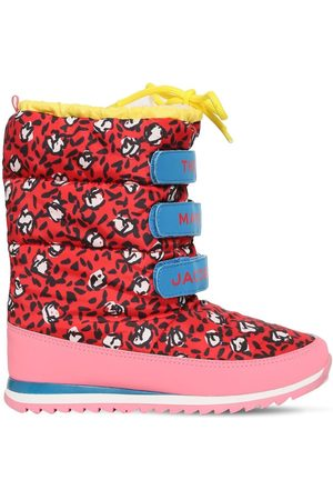 Marc Jacobs Girls Snow Boots - Printed Nylon Snow Boots