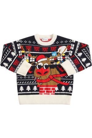 Marc Jacobs Boys Jumpers - Christmas Jacquard Knit Sweater