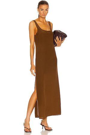 MATTEAU Women Casual Dresses - Tank Slip Dress in Pecan