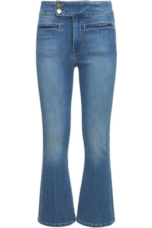 Frame Women Bootcut & Flares - Le Hardy Crop Flared Jeans