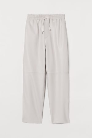 H&M Women Joggers - Leather joggers