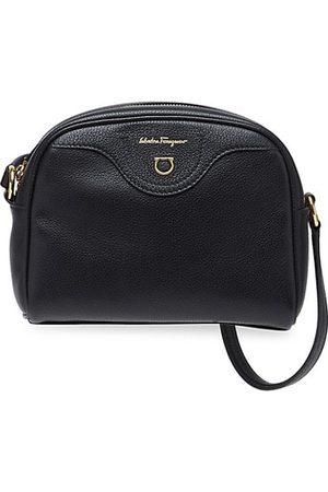 Salvatore Ferragamo Leather Travel Crossbody Bag