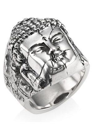 King Baby Studio Sterling Temple Ruin Buddha Ring
