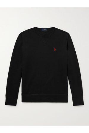 Polo Ralph Lauren Men Sweatshirts - Logo-Embroidered Cotton-Blend Jersey Sweatshirt