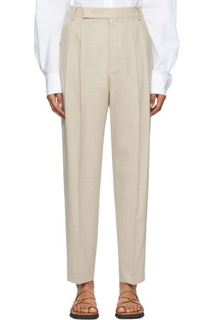 Women Formal Trousers - DRAE Wool Summer Trousers