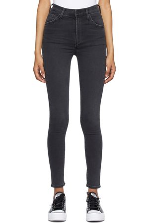 Women Skinny - Citizens of Humanity Black Chrissy High Rise Skinny Jeans