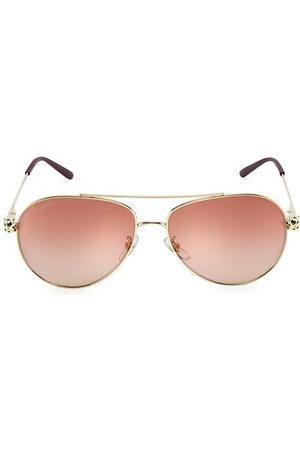 Cartier Aviator Sunglasses - 61MM Aviator Sunglasses
