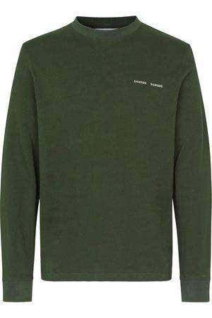 Samsøe Samsøe Norsbro LS T-Shirt 6024 - Kambu Green