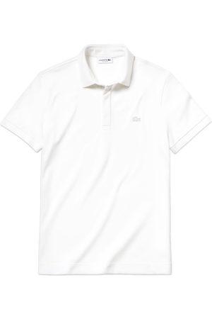 Lacoste Women Polo Shirts - Paris Regular Fit Stretch Polo PH5522 - White
