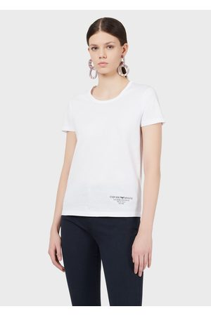 Emporio Armani Borgonuovo XI Logo Jersey T-shirt