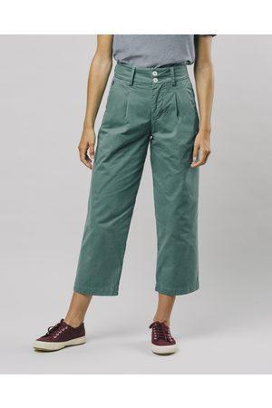 Brava Fabrics Women Trousers - Kale Pleated Pants