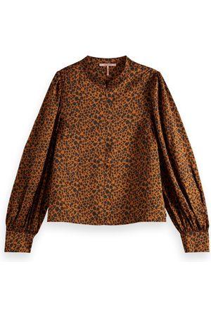 Scotch&Soda Women Tops - Leopard Print Top