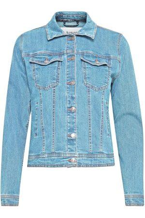 B YOUNG Women Denim Jackets - B Young Pully Denim Jacket Light