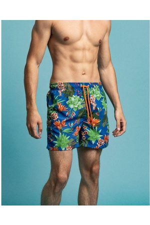 GANT Classic fit swim shorts with Humming Garden print 922116011