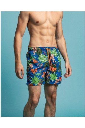 GANT Men Swim Shorts - Classic fit swim shorts with Humming Garden print 922116011