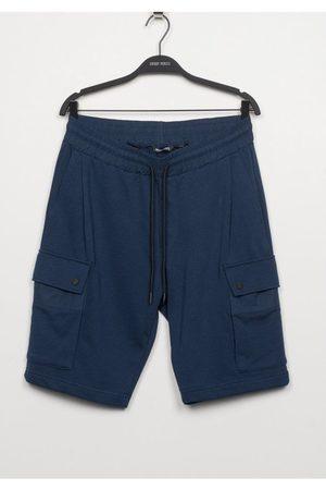 Antony Morato Men Shorts - Cargo Jersey Shorts Navy Colour: Navy