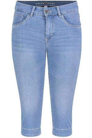 Mac Women Parkas - Mac Dream Capri Jeans 5469 0355 D501 Light Mid Blue S