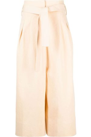 Jil Sander Belted palazzo trousers